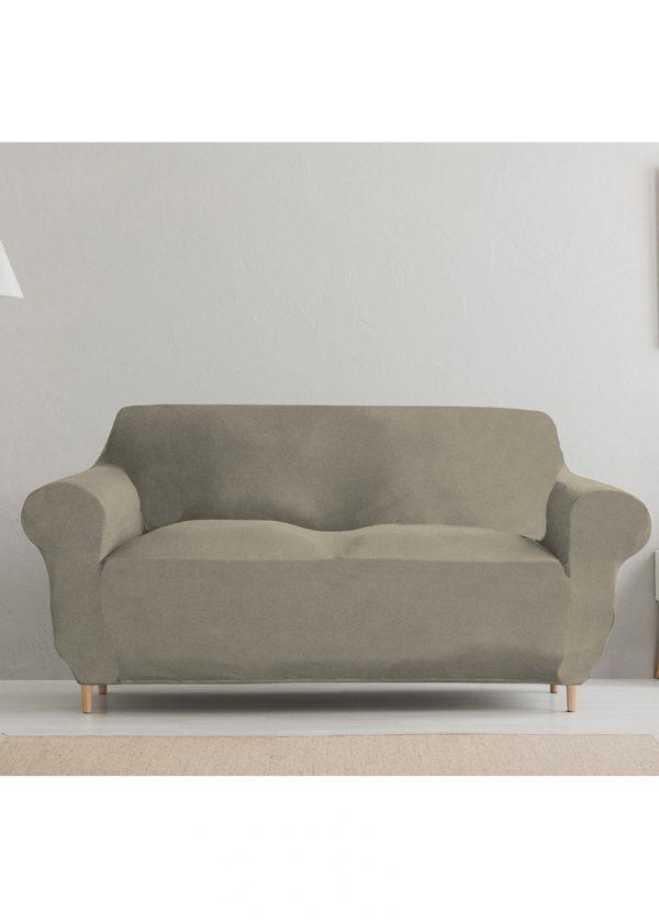 Jednobarevný povlak na pohovku  - Napínací potah