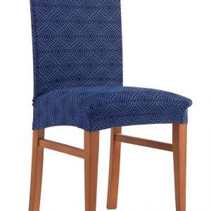 Povlak na židli Kosočtverce  - Napínací potah